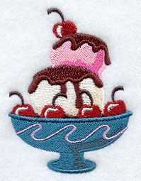 Machine Embroidery Designs at Embroidery Library! - A Sweet Treats Design Pack Machine Embroidery Applique, Embroidery Art, Arts And Crafts, Diy Crafts, Needlepoint Stitches, Applique Designs, Cross Stitch Designs, Flower Pots, Spa Towels