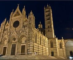 Enjoy Your Vacation in Picturesque Tuscan Hill City of Siena Siena Cathedral, Barcelona Cathedral, Hill City, Enjoy Your Vacation, Toscana, Beautiful Places To Visit, Seaside, Siena Italy, Travel