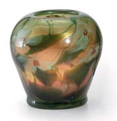 Tiffany glass is the generic name used here to describe the many and varied types of glass developed and produced from 1878 to 1933 at the Tiffany Studios, Tiffany Art, Tiffany Glass, Louis Comfort Tiffany, Glass Paperweights, Paper Weights, Vases, Art Decor, Art Nouveau, Glass Art