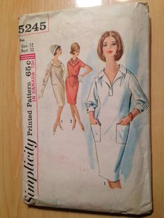Hey, I found this really awesome Etsy listing at https://www.etsy.com/listing/250356265/vintage-60s-simplicity-sewing-pattern