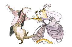 Boris and Cristina Wedding logo by xinzii