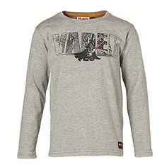 LEGO Wear Star Wars - Camiseta infantil de manga larga Darth Vader - Gris - 122 #camiseta #realidadaumentada #ideas #regalo