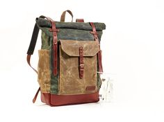 """Hey, I found this really awesome Etsy listing at <a href=""""https://www.etsy.com/listing/220809689/green-waxed-canvas-backpack-waxed-canvas"""" rel=""""nofollow"""" target=""""_blank"""">www.etsy.com/...</a>"""