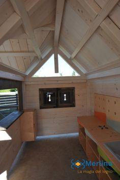 Casetta in legno per bambini ristorante dotata di cucina in legno e tavolo con seggioline in legno. Adatta ai bambini dai 3 ai 6 anni della scuola dell'infanzia. 3, Basketball Court