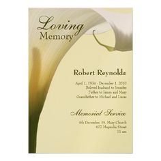 Funeral Memorial Cards Or Funeral Bulletins  Hope Spiritual