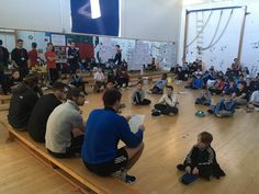 BSCS PE @bscspe  Nov 25 @tompalmerauthor Y7 boys hanging on every word! Staff read Call of Duty/Chapter 1 of Over the Line and they loved it. New army of fans!