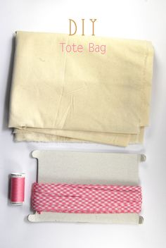 DIY Tote Bag Tutorial