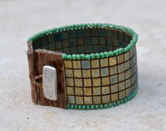 Loomed Beaded Bracelet Sundance Style Artisan door SplendorVendor