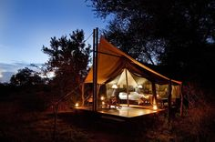South Africa in 10 Days - This 10 Day South African itinerary covers many aspects including Cape Town, the Cape Winelands, Zululand and a quality safari in the Kruger National Park. Boutique Hotels, Tent Camping, Glamping, Camping Tips, Outside Magazine, Camping Photography, African Safari, Day Tours, Lodges