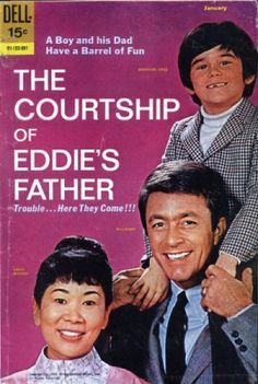 "Such a sweet show..love Bill Bixby in this..wish they would bring it out on DVD. ""People let me tell ya 'bout my best friend. He's a warm boy, cuddly toy, my up, my down, my pride and joy"" Courtship of Eddies Father 1969, featuring the sweet fella, Bill Bixby in his prime."