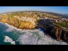 Azenhas do Mar aerial view