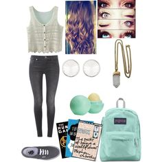"""""""Back to school outfit"""" by notweridlimitededition on Polyvore"""
