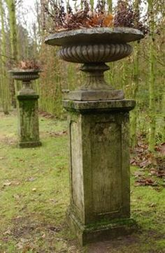 French urn...would love a set up like this in garden by pool as the focal point