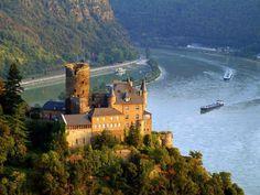Hesse, Rhine river, Germany