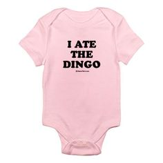 I ate the dingo :) I want this for my future children. In like 10 or 15 years