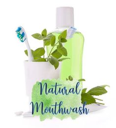Here are recipes for natural mouthwash that are free of harmful chemicals and a great way to maintain oral hygiene. Young Living, Health Activities, Natural Health Tips, Natural Treatments, Natural Remedies, Mouthwash, Cosmetic Dentistry, Oral Hygiene, Dental Implants