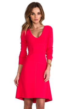 BCBGMAXAZRIA Sydney Dress in Red Berry from REVOLVEclothing