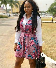 African Fashion Is Hot African Fashion Ankara, African Inspired Fashion, Latest African Fashion Dresses, African Print Fashion, African Attire, African Wear, African Women, African Style, Short African Dresses