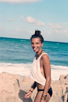 Girl Overboard - NY Times Magazine  Daria Werbowy - Cass Bird