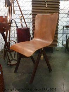Chaise cuir Manfield Chehoma