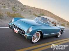 1954 chevy corvetts photos - Google Search