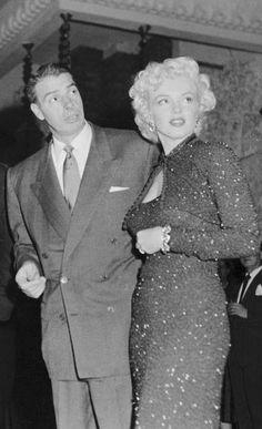 Marilyn and Joe on honeymoon in the Imperial Hotel / 帝国ホテル(Tokyo・Osaka・Kamikochi) in February 1954.