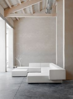 Viccarbe presents Step collection by Vincent Van Duysen #interiors #minimal #white @Viccarbe