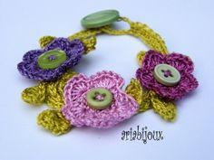ARiabijoux: crochet bracelet