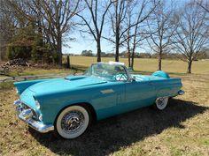 1956 Ford Thunderbird. @designerwallace  My dream car.
