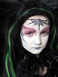 halloween face painting at harrods - Halloween Face Paint Ideas For Children