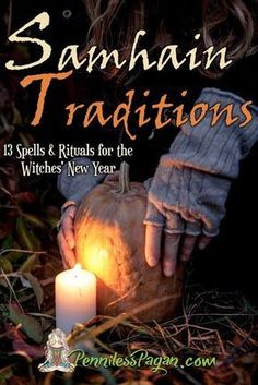 Samhain Traditions: 13 Simple & Affordable Halloween Spells & Rituals for the Witches' New Year is now on sale! Worshipping nature shouldn't cost you a dime. Pagan and Wiccan Rituals. Living in simplicity. Samhain Ritual, Wiccan Rituals, Wiccan Spells, Blessed Samhain, Wiccan Sabbats, Witchcraft Spells, Wiccan Witch, Halloween Tags, Halloween Spells