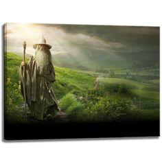 Gandalf Motiv auf Leinwand im Format: 80x60 cm. Hochwertiger Kunstdruck als Wandbild. Billiger als ein Ölbild! ACHTUNG KEIN Poster oder Plakat! Dream-Arts http://www.amazon.de/dp/B00K48VXRM/ref=cm_sw_r_pi_dp_RUPwub0KKC68Z
