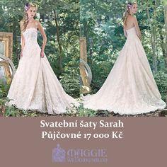 Svatební šaty Sarah, salon Maggie #svatebnisaty #svatba #svatby #svatebnisalon #svatebnistudio #saty #MaggieSottero #nevesta #satypronevestu