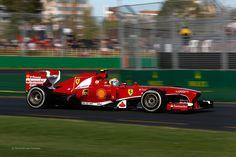 Felipe Massa, Ferrari, Melbourne, 2013