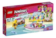 LEGO Juniors 10747 Andrea's en Stephanies strandvakantie