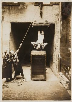 Harry Houdini_1914  by The Jewish Museum, via Flickr