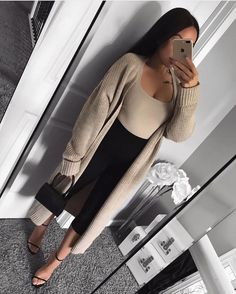 Hot Fall Outfits, Basic Outfits, Mode Outfits, Simple Outfits, Classy Outfits, Stylish Outfits, Fashion Outfits, Smart Casual Outfit, Business Casual Outfits
