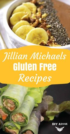 Jillian Michaels' Gluten Free Recipes that you have to try via @DIYActiveHQ #recipes #Nutrition #gluten