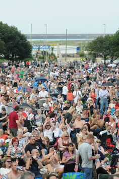 South Shields seafront came alive with music fans watching 10cc and UK Rock Legends in the Bents Park, South Shields.