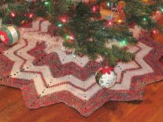 Christmas Tree Skirt Pic No2 Of Same Pattern Already Pinned