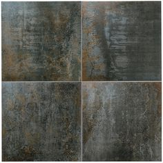 Artfully mimicking the beauty of oxidized & aged steel, copper, iron, zinc, & chromium, Crossville presents Altered State. View the Acid Wash color.