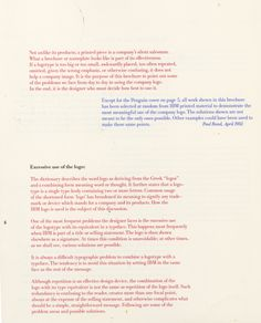Paul Rand on the Use and Abuse of His IBM Logo