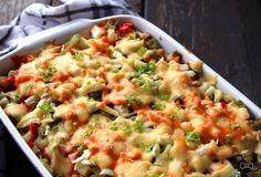 Każdy zna sałatkę gyros , lecz my postanowiliśmy przygotować zapiekankę gyros! Skład prawie w ogóle się nie różni, tylko zamiast kapusty... Tortellini, Mozzarella, Risotto, Potato Salad, Casserole, Macaroni And Cheese, Potatoes, Chicken, Baking