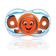 "RaZbaby BPA Free 0-36 Months Keep-It-Kleen Pacifier - Clown Fish - Raz Baby - Babies""R""Us"