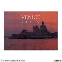 Sunset in Venice Cutting Board
