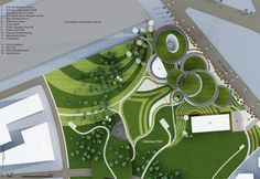 Taichung City Cultural Center Entry by Maxthreads Eco Architecture, Architecture Magazines, Site Plan Design, Urban Design Concept, Urban Fabric, Cultural Center, Modern Landscaping, Museum Of Fine Arts, Sustainable Design