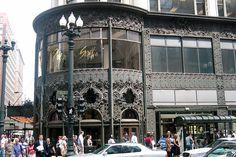 Chicago - Carson Pirie Scott and Company Building by wallyg, via Flickr