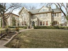 Magnificent home tucked in a picturesque setting in Highland Park. 4 bedrooms, 3.1 bath, 3520 sq ft. Beautiful floors, 10 ft ceilings, gorgeous moldings throughout. On a gorgeous landscaped lot with pool. Sought after Bradfield, walking distance to school and HP Village.
