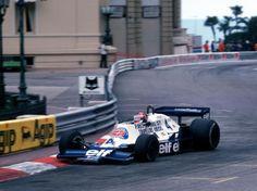 Patrick Depailler winner Monaco 1978, Tyrrell 008