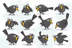 """Gratis e-card: """"Vogeltjes"""" jij is lief"""